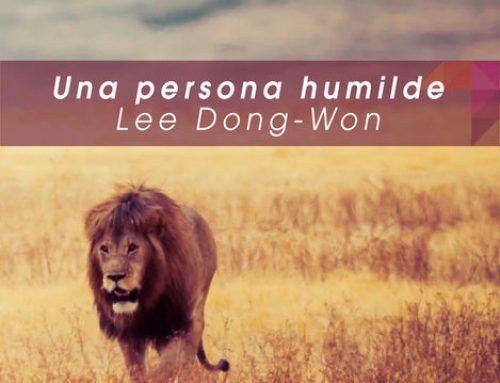 Una persona humilde